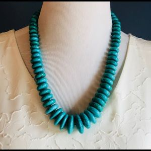 Stunning Turquoise Necklace w Earrings